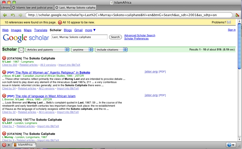 Reference programs this is how zotero and mendeley work sente and bookends have both options you search in list mode in some catalogues and in web mode in others ccuart Image collections